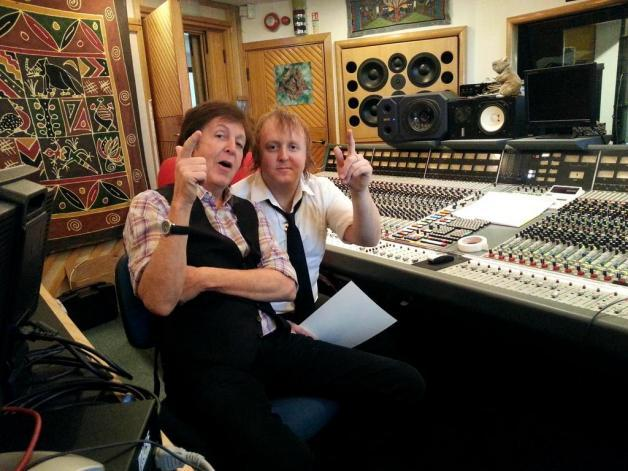 Paul McCartney and James McCartney