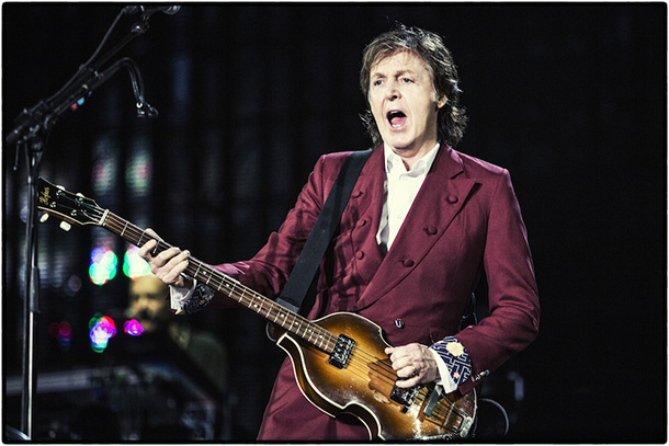 Paul McCartney Out There tour 2013